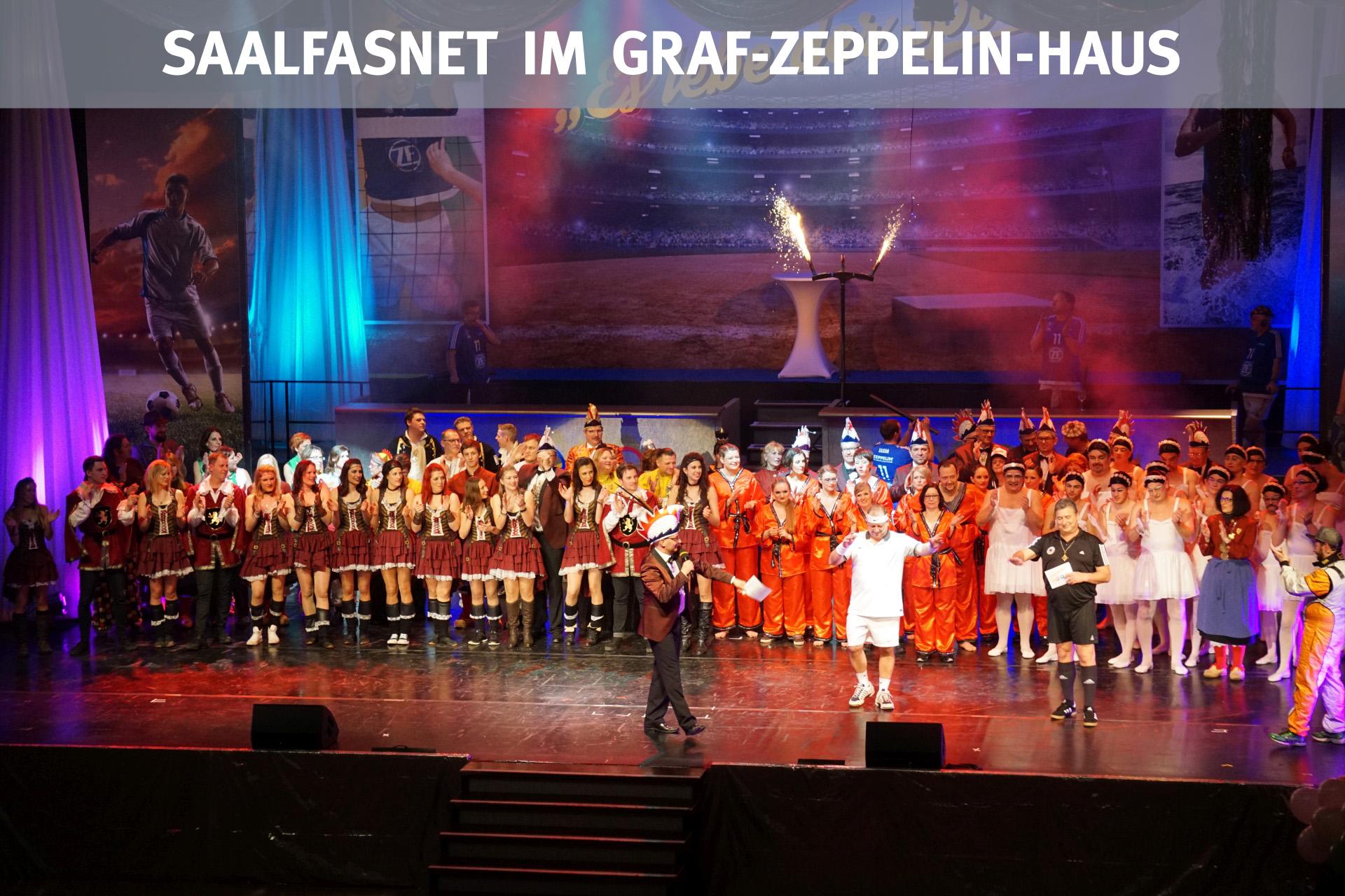 Saalfasnet im Graf-Zeppelin-Haus