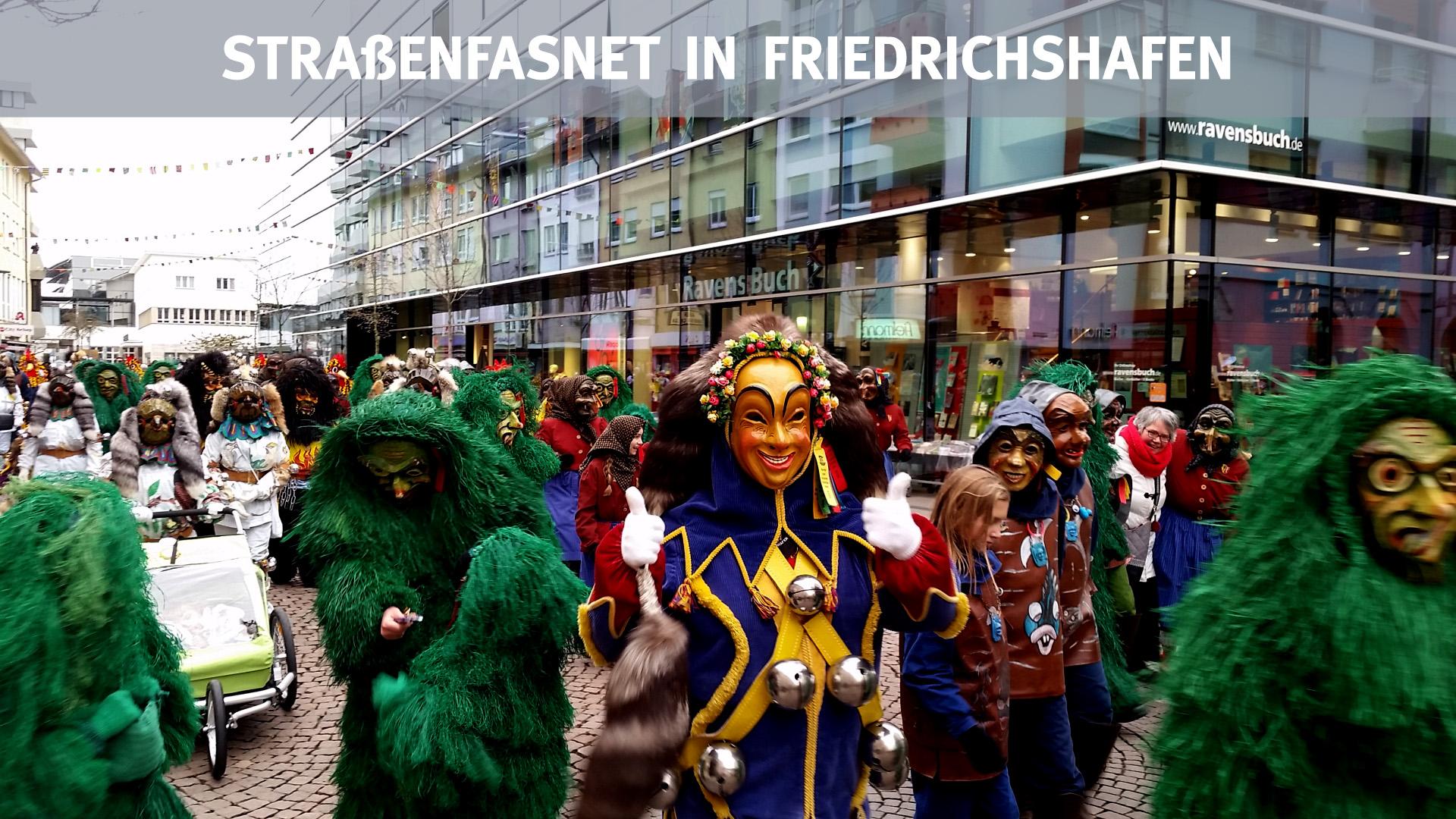 Straßenfasnet in Friedrichshafen